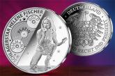 Helene Fischer als Silbermünze