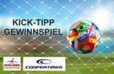 Macht mit beim Kicktipp Fußball-Gewinnspiel