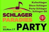 Radio Schlagerparadies Party am 25.11.17 in Saarbrücken